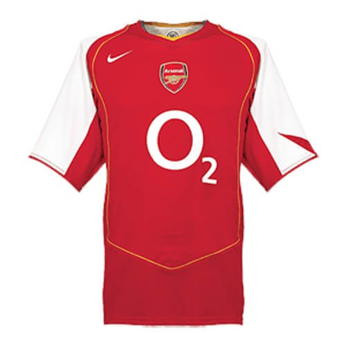 Retro Arsenal Home Football Shirt 04 05