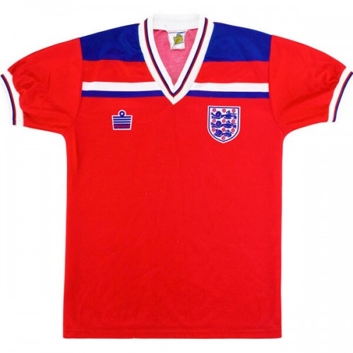 Retro England Away Football Shirt 1980 1983