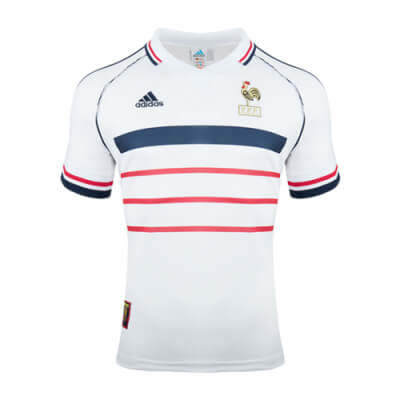 Retro France Away 1998 Football Shirt