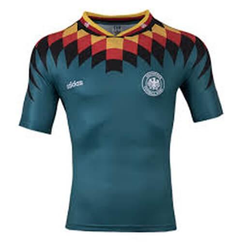 Retro Germany Away 1994 Football Shirt