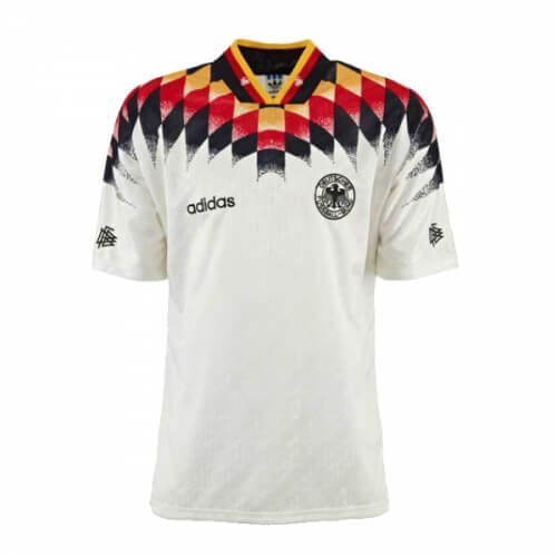 Retro Germany Home 1994 Football Shirt