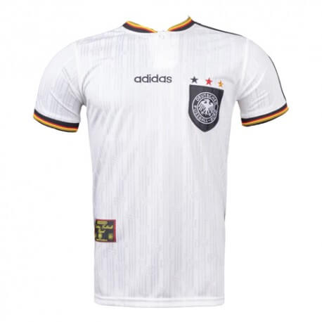 Retro Germany Home 1996 Football Shirt