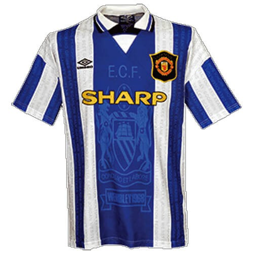 Retro Manchester United Third Football Shirt 94 96