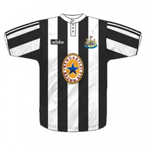 Retro Newcastle United Home Football Shirt 95 97