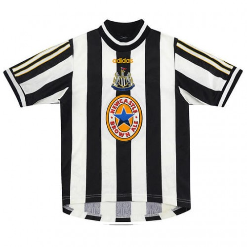 Retro Newcastle United Home Football Shirt 97 99