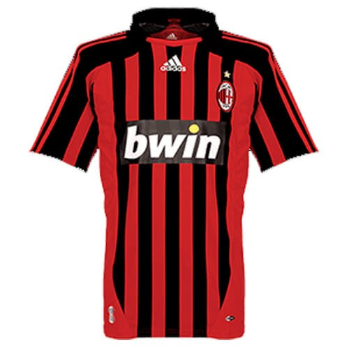 Retro AC Milan Home Football Shirt 07 08