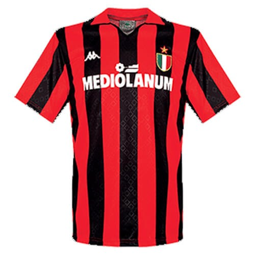 Retro AC Milan Home Football Shirt 1989