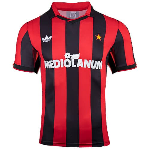 Retro AC Milan Home Football Shirt 91 92