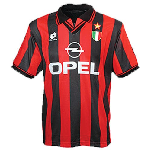 Retro AC Milan Home Football Shirt 96 97