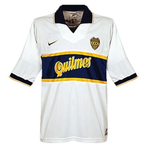 Retro Boca Juniors Away Football Shirt 96 97