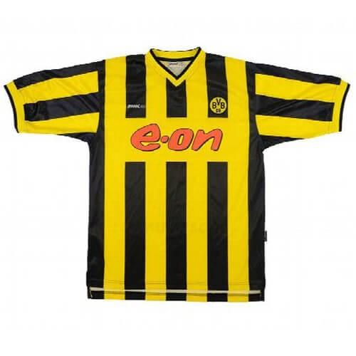Retro Borussia Dortmund Home Football Shirt 2000