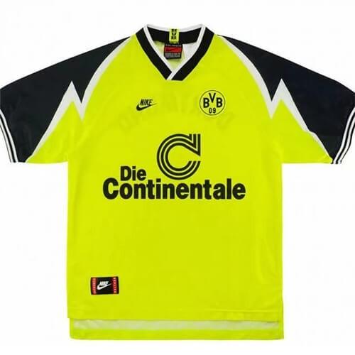 Retro Borussia Dortmund Home Football Shirt 95/96