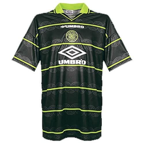 Retro Celtic Away Football Shirt 98 99