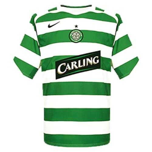 Retro Celtic Home Football Shirt 05 06