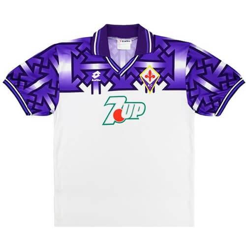 Retro Fiorentina Away Football Shirt 92 93