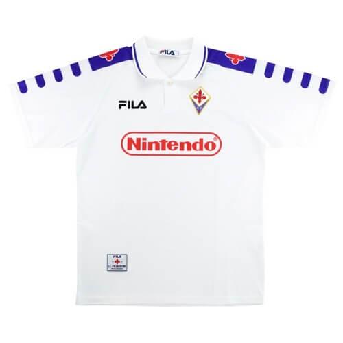 Retro Fiorentina Away Football Shirt 98 99