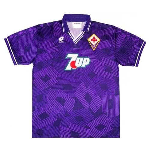 Retro Fiorentina Home Football Shirt 92 93