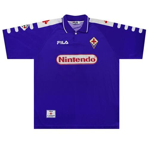 Retro Fiorentina Home Football Shirt 98 99