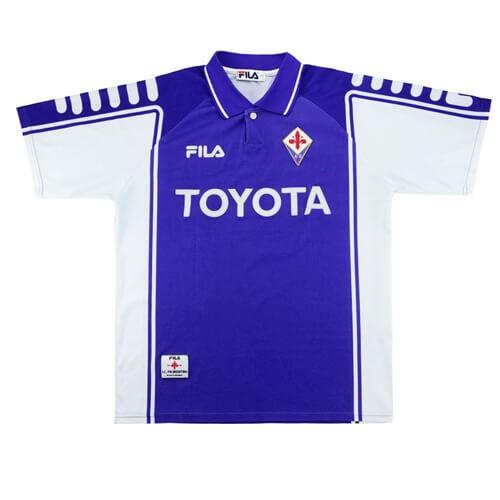 Retro Fiorentina Home Football Shirt 99 00