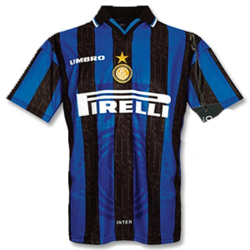 Retro Inter Milan Home Football Shirt 97 98