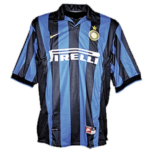 Retro Inter Milan Home Football Shirt 98 99