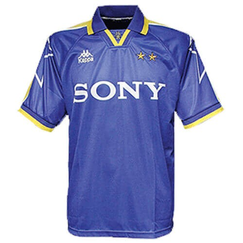 Retro Juventus Away Football Shirt 96 97