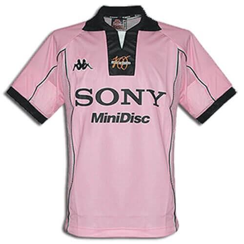 Retro Juventus Away Football Shirt 97 98