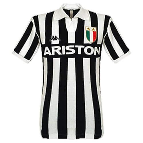 Retro Juventus Home Football Shirt 84 85