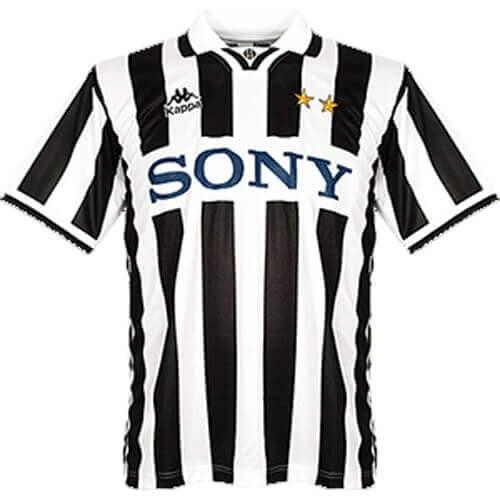 Retro Juventus Home Football Shirt 95 96