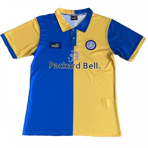 Retro Leeds United Away Football Shirt 1998 1999