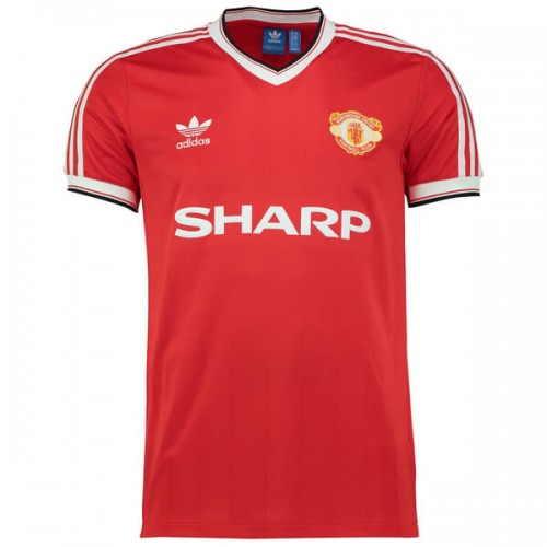 Retro Manchester United Home Football Shirt 1984
