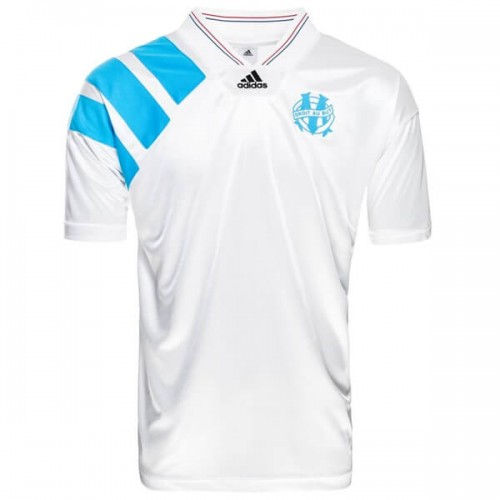 Retro Olympique Marseille Home Football Shirt 1993