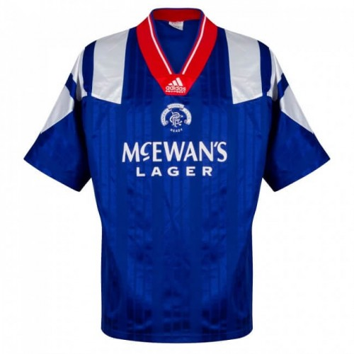 Retro Rangers Home Football Shirt 92 94