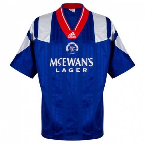 Retro Rangers Home Football Shirt 92 94