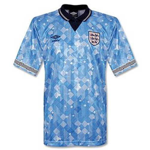 Retro England Third Football Shirt 1990