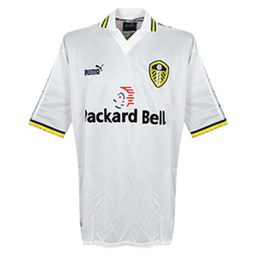 Retro Leeds United Home Football Shirt 98 00