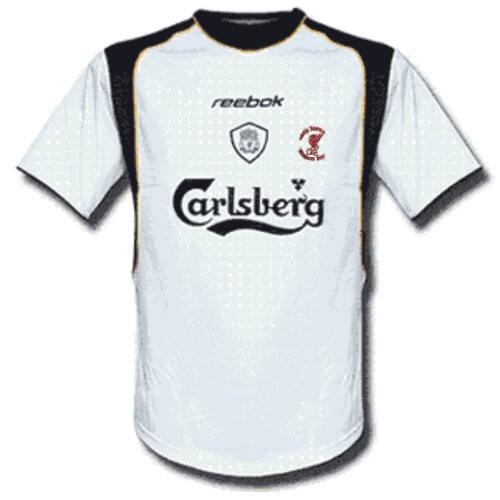 Retro Liverpool Away Football Shirt 01 02