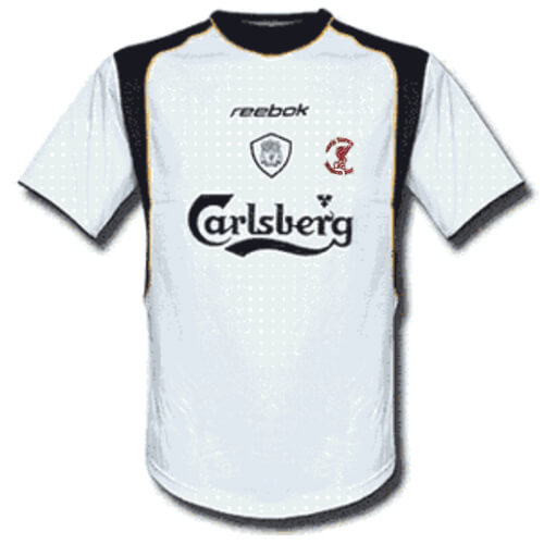 Retro Liverpool Away Football Shirt 01 02