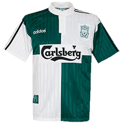 Retro Liverpool Away Football Shirt 95 96