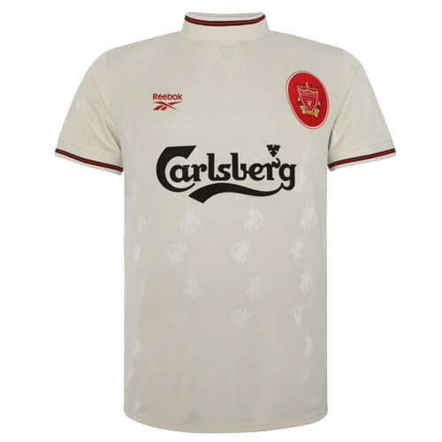 Retro Liverpool Away Football Shirt 96 97