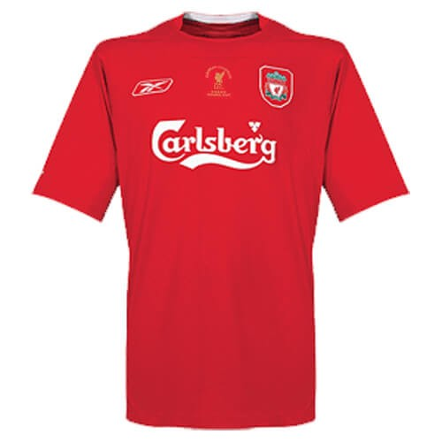 Retro Liverpool Home Football Shirt 04 05