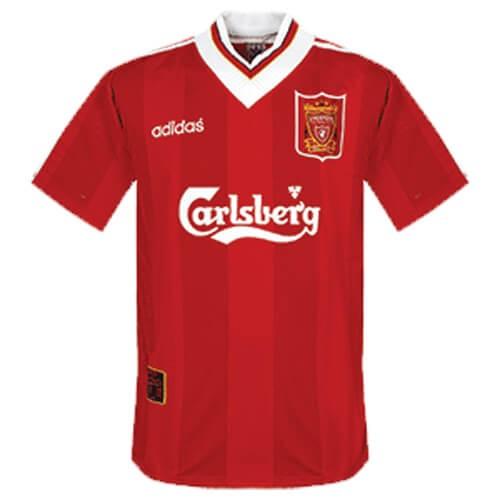 Retro Liverpool Home Football Shirt 95 96