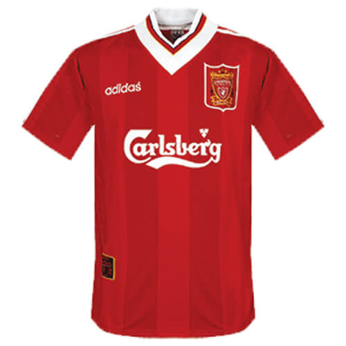 Retro Liverpool Home Football Shirt 95 96