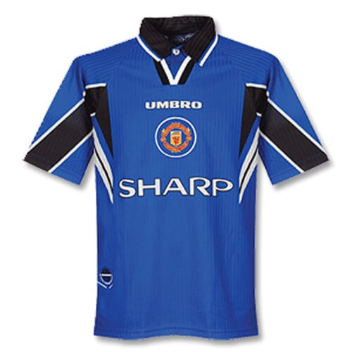 Retro Manchester United Third Football Shirt 97 99