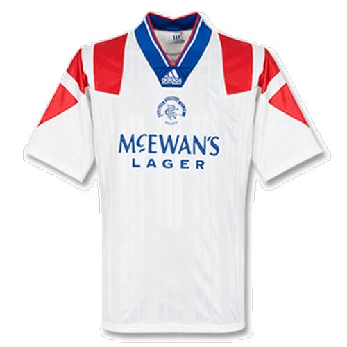 Retro Rangers Away Football Shirt 92 93