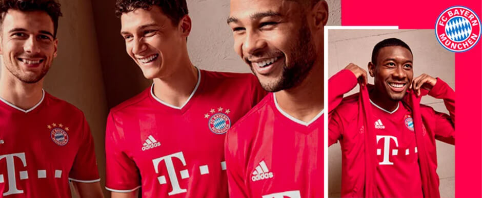 Bayern Munich Home Football Shirt 20/21