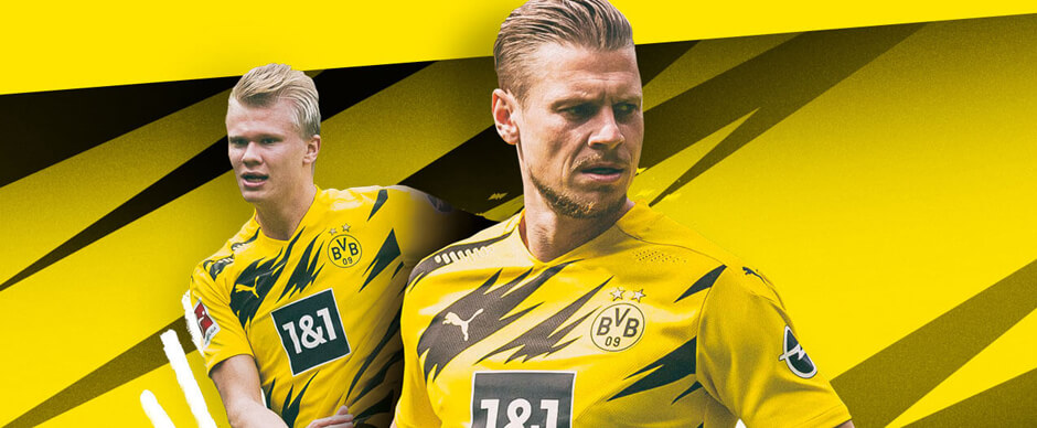 Dortmund Home Football Shirt 20/21