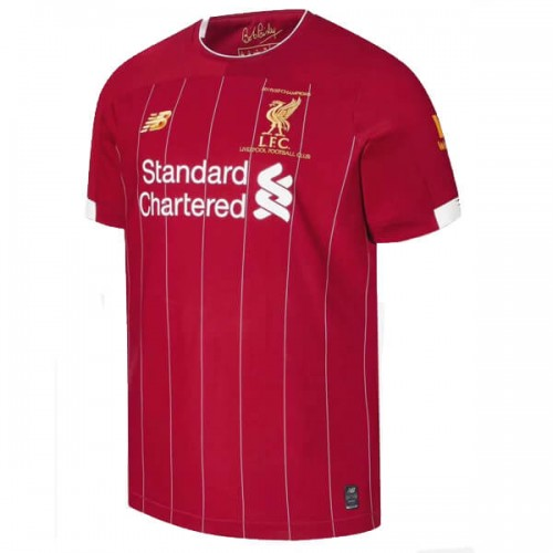 Liverpool Home EPL Champions Football Shirt 19 20