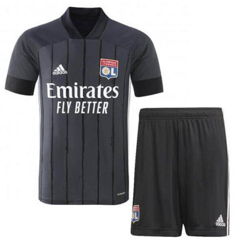 Olympique Lyon Away Kids Football Kit 20 21