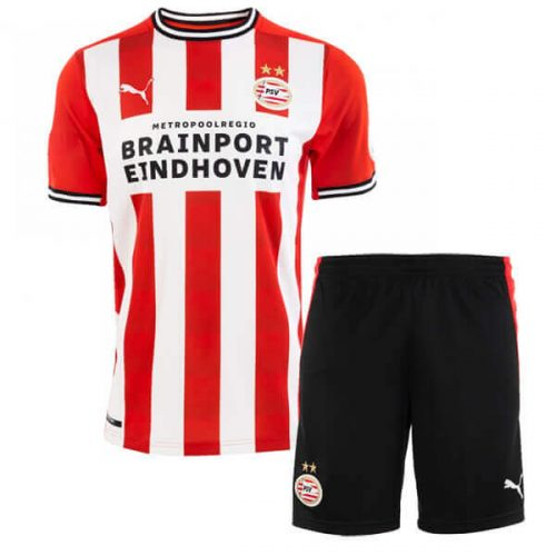 PSV Eindhoven Kids Football Kit 20 21